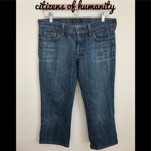 ❤️Citizens of Humanity Kelly Bootcut Capris ❤️